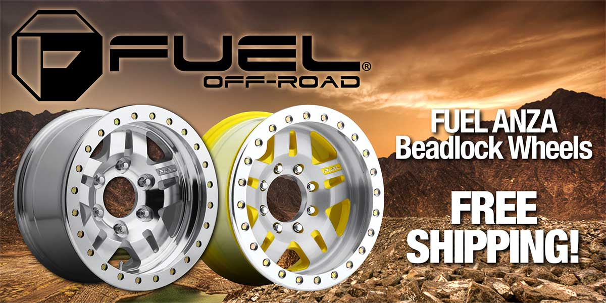 Fuel Anza Beadlock Wheels