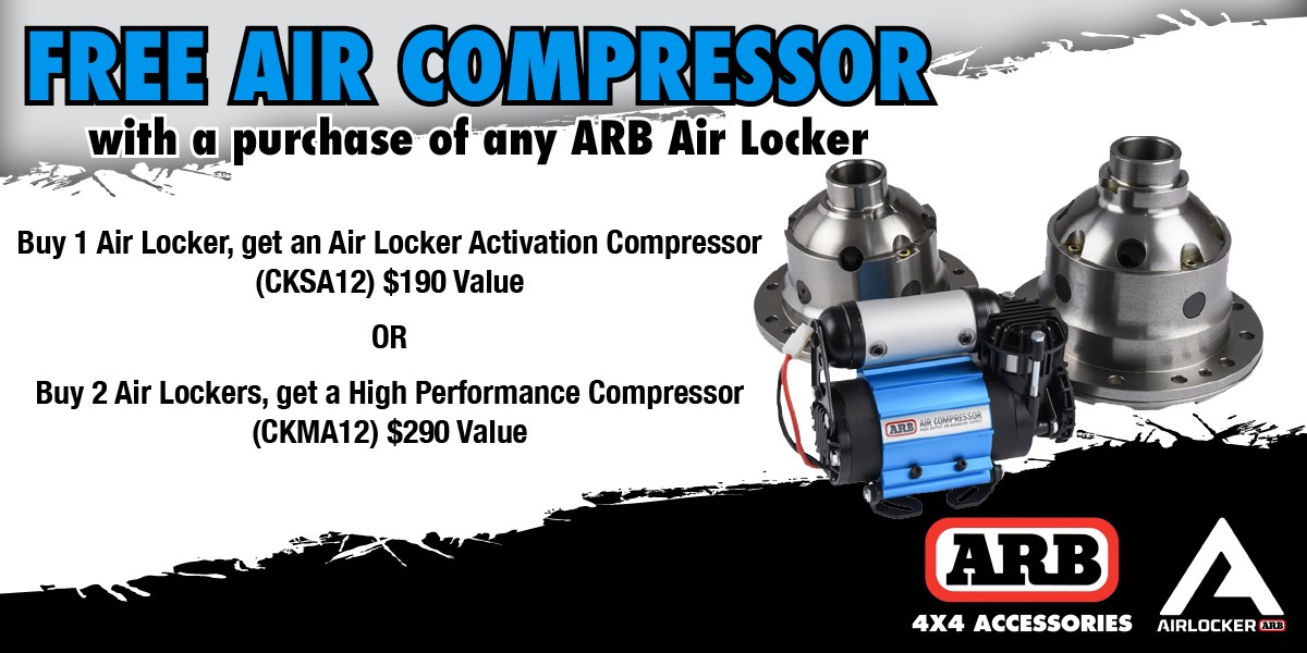 ARB Free Compressor Deal