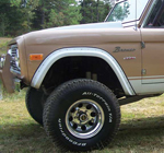 Front Fiberglass Flares 