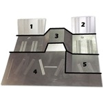 Floor Pans 5-pc. Set
