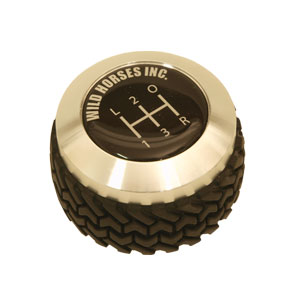 Billet Tire Tread Shifter Knob