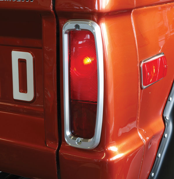 buy billet tail light bezels early ford bronco parts. Black Bedroom Furniture Sets. Home Design Ideas