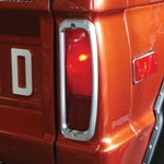 Billet Tail Light Bezels 
