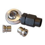 Mega Rod End With Tube Insert & Jam Nut