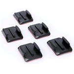 Curved Adhesive Mounts for GoPro Camera
