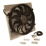 Aluminum Shrouded  High Output Radiator Fan 18-3/4x17-5/8x 3