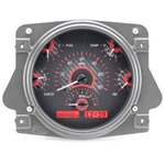 Dakota Digital Dash VHX Carbon Fiber Red 66-77 Bronco / 61-66 Pickup