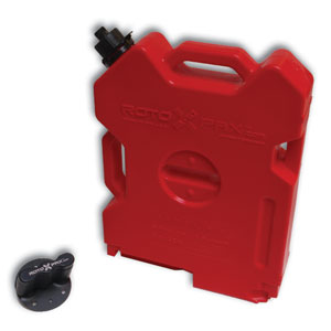 RotoPax 2-Gallon Gasoline Pack & Mount Kit