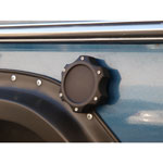 Black Billet Grabber Fuel Cap Cover (each)