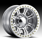 Raceline Monster Beadlock Aluminum Wheel w/ Alum Outer Ring