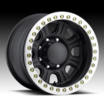 Raceline Monster Beadlock Black Wheel  w/ Alum Outer Ring