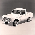 Bronco Features Publicity Release 1965-8-17