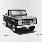 1972 Ford Bronco Publicity Release