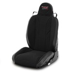 Mastercraft Baja RS Seat w/ Fixed Headrest Left Black with Black Center & Side Panels