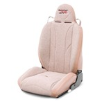 Mastercraft Baja RS Seat w/ Fixed Headrest Left Tan with Brown Center &amp; Side Panels &amp; Tan Piping