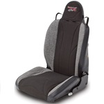 Mastercraft Baja RS Seat w/ Fixed Headrest Left Black with Black Center &amp; Gray Side Panels