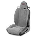 Mastercraft Baja RS Seat w/ Fixed Headrest Right Black with Gray Center & Gray Side Panels