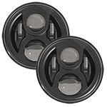 SPEAKER 8700 Evolution 2 LED Headlights Black Finish 7""