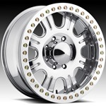 Raceline Forged Monster Beadlock Wheel w/ Aluminum Ring