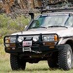 ARB Deluxe Bar Bumper Toyota Land Cruiser 80 Series 90-97 Lexus LX450 96-97
