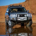 ARB Deluxe Bar Bumper Toyota Land Cruiser 200 Series 2008-11
