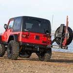 ARB Rear Tire Carrier For Jeep Wrangler TJ 1997-06