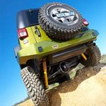 ARB Rear Bumper Optional License Plate Relocation Kit For Jeep Wrangler