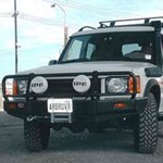 ARB Deluxe Bar Bumper Land Rover Discovery II 1999-02 with Airbags