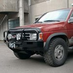 ARB Deluxe Bar Bumper Nissan Pickup 1991-97