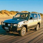 ARB Deluxe Bar Bumper Isuzu Trooper 1998-03 without Flares