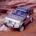 ARB Deluxe Bar Bumper Isuzu Trooper 1998-03 with Flares