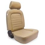 Procar Classic Seat Beige Vinyl w/ Sliders