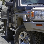 ARB Side Rails with Steps for Toyota Land Cruiser 79 Series
