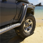 ARB Side Rails with Steps for Toyota Land Cruiser 76 Series