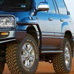 ARB Side Rails With Flares For Toyota Land Cruiser 100 Series