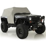 Smittybilt Water-Resistant Cab Cover Gray with Door Flaps 07-12 Wrangler JK 2-Door