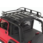 Smittybilt Universal Roof Basket 50in x 70in - 250 Lbs Rating