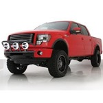 Smittybilt RPD Light Bar Gloss Black 2011 F250/ F350