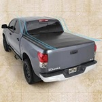Smittybilt Smart Cover Folding Tonneau for Trucks 07-12 Tundra Crew Max 5.5ft Bed