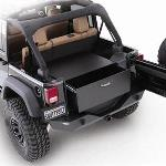 Smittybilt Rear Lockable Storage Box 87-06 Jeep Wrangler