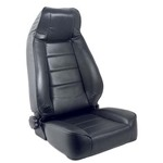 Smittybilt Factory-Style Recliner Jeep Seat Denim Black 76-12 CJ/YJ/TJ/LJ/JK