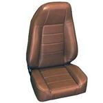 Smittybilt Factory-Style Recliner Jeep Seat Denim Spice 76-12 CJ/YJ/TJ/LJ/JK