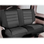 Smittybilt Neo Seat Covers Rear Black/Black 03-06 Wrangler & Unlimited