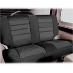 Smittybilt Neo Seat Covers Rear Black/Black 2007 Wrangler JK 4-Door