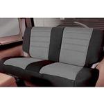 Smittybilt Neo Seat Covers Rear Black/Gray 2007 Wrangler JK 4-Door