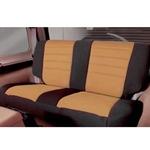 Smittybilt Neo Seat Covers Rear Black/Tan 2007 Wrangler JK 4-Door