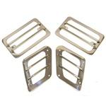 Smittybilt Euro Turn Signal & Side Marker Covers 97-06 Wrangler