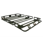 Smittybilt Defender Bolt Together Roof Rack 5.5ft wide X 5ft long X 4in sides
