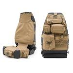 Smittybilt GEAR Seat Cover Front Tan 76-12 CJ/YJ/TJ/LJ/JK