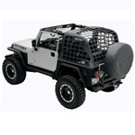 Smittybilt C.R.E.S. Trail Net Diamond Black 07-14 Wrangler JK 2-Door
